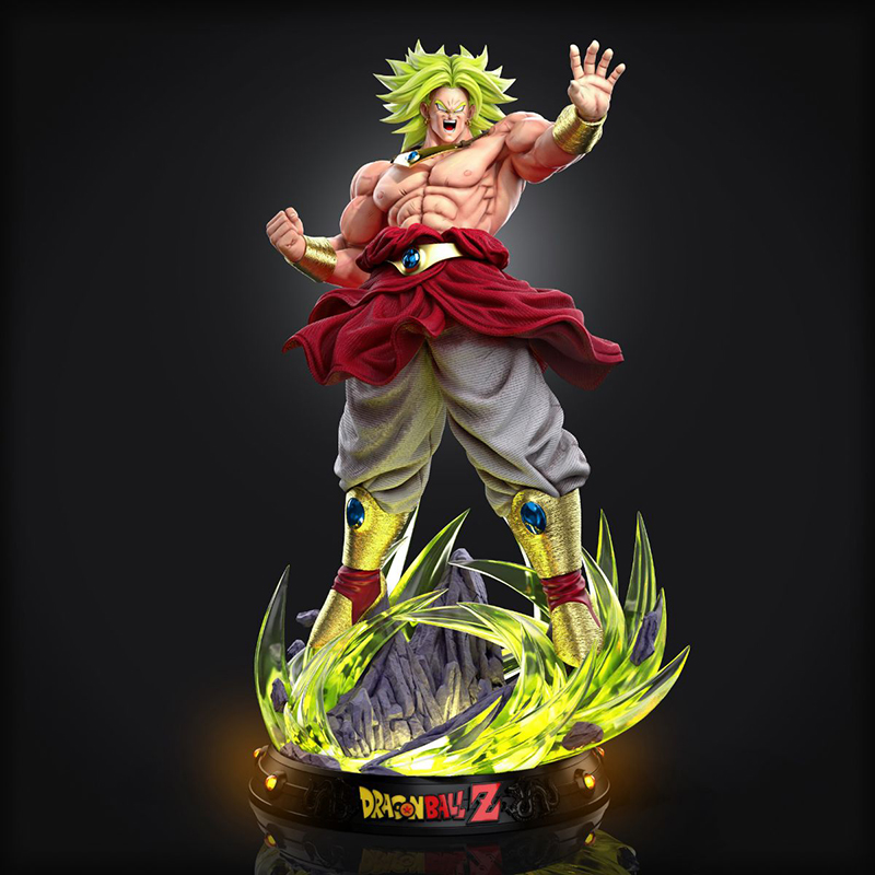 GK Broly Bust Double Headed Sculpture Limited Edition Statue Figure 1