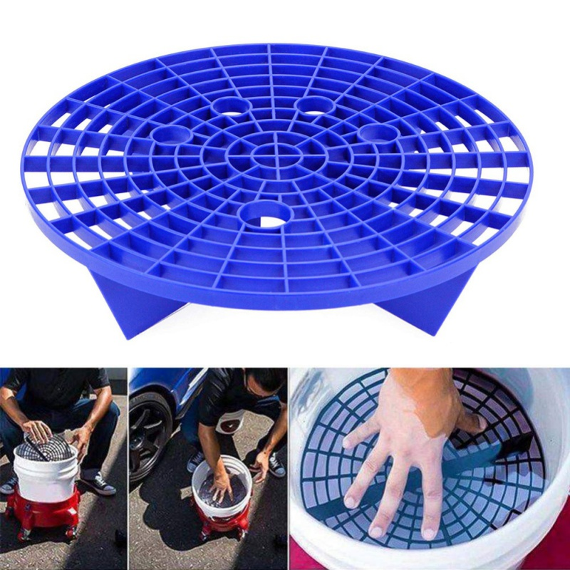 Car Wash Grit Guard Insert Washboard Bucket Filter Sand Isolation Net Lastic Filter Anti-scratch Dirt Pad Car Cleaning Tool