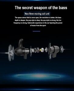 Image 2 - PunnkFunnk Bluetooth kulaklık kablosuz kulaklıklar Bluetooth 5.0 MP3 oyuncu metal manyetik 3D Stereo kulak kulaklık Mic ile