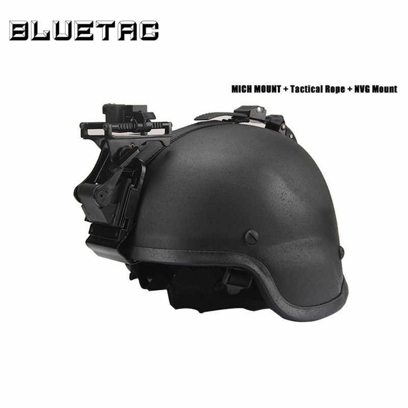 Очки ночного видения (NVG) Rhino крепление на руку для PSV-7 PSV-14 металлический Тактический MICH M88 Шлем NVG монтажные наборы
