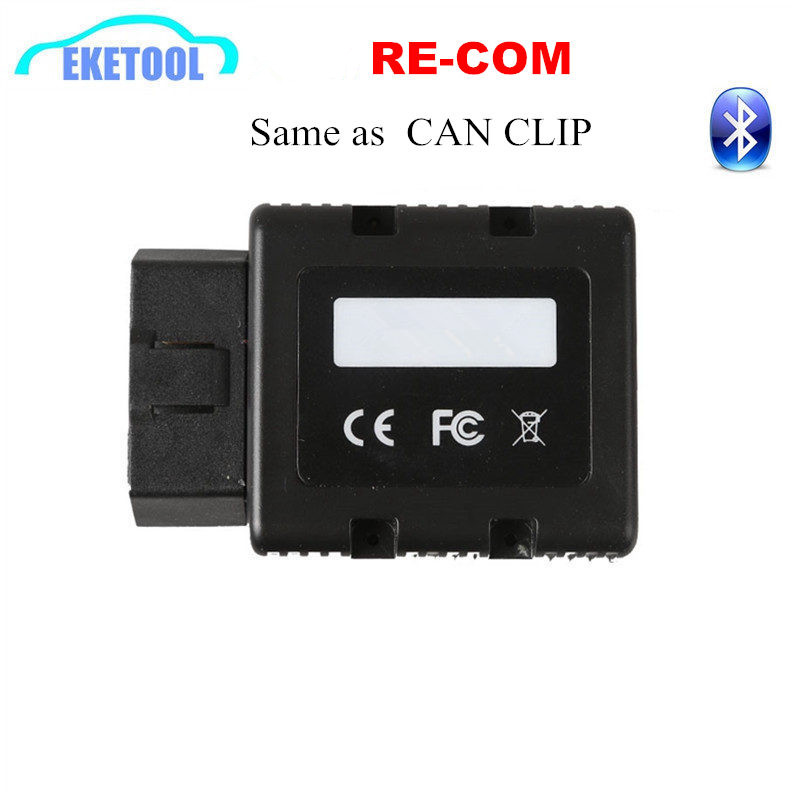 Re COM Bluetooth Interface For Renault OBD Diagnostic amp Programming Multi-Language RE-COM Replace Can Clip Same Function