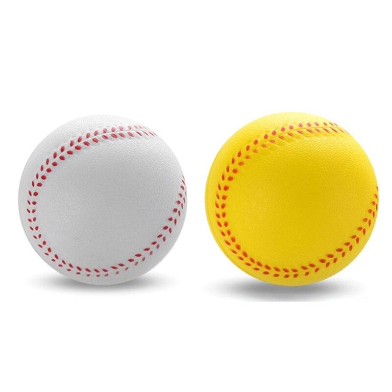 1Pc Universal Handmade Baseballs Upper Hard & Soft Baseball Balls Softball Ball Training Exercise Baseball Balls