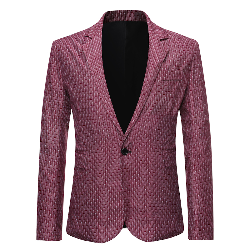 2020 Quality Brand Men Blazers Men's Tuxedos Formal Occasions Coat Fashion Slim One Button Blazer Men's Business Blazer