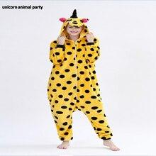 Kigurumi Onesies unicorn men women Cosplay halloween Christmas Party Pyjamas costumes carnival costume Sleepwear Jumpsuit