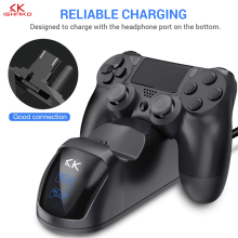PS4 Accessories Joystick Charger Play Station 4 Dual Micro USB Charging Stand for SONY Playstation Controller