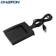 Chafon usb lector de tarjetas rfid inteligente formato de salida hexagonal de 8 dígitos protocolo iso14443a para la gestión hotelera