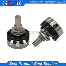 2pcs RV24YN20S 1K 2K 5K 10K 20K 50K 100K 200K 500K 1M ohm Turn Film Rotary Potentiometer