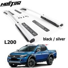 цена на New arrival roof rack roof rail roof bar for Mitsubishi L200 TRITON,excellent ISO9001 quality,superior 7075 class aluminum alloy
