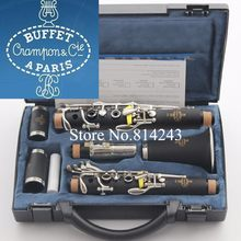 Buffet Crampon&Cie A PARIS B12 17 Key Bb Tune Bakelite Clarinet Playing Musical Instruments Clarinet with Accessories