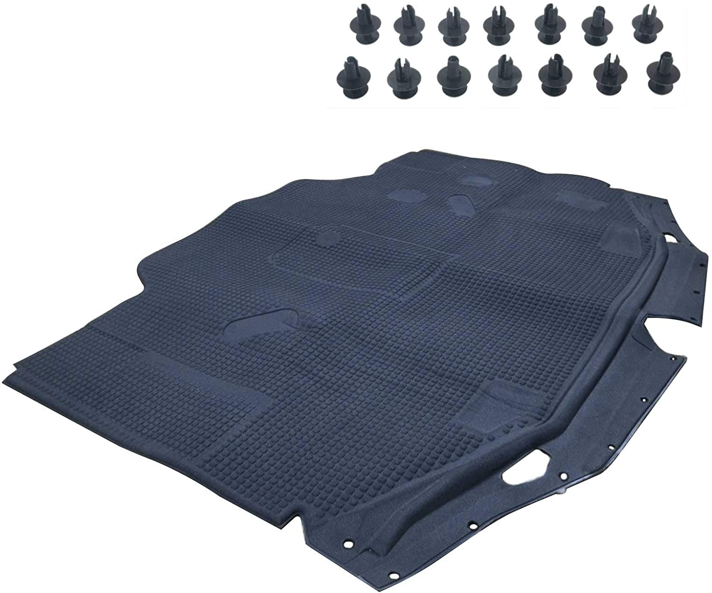 Novo conversível calor isolamento pad para Mercedes Benz 300SL 500SL 600SL R129 SL320 SL500 SL600 1296802025/928 33022 628 1990 200|Capuzes|   -