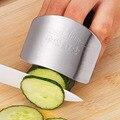 Кухонный инструмент из нержавеющей стали  защита для пальцев рук  нож для резки  безопасная защита