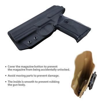 B.B.F Make IWB Kydex Gun Holster for Ruger SR9 / SR9C / SR40 / SR40C Pistol - Inside Waistband Concealed Carry Case 5