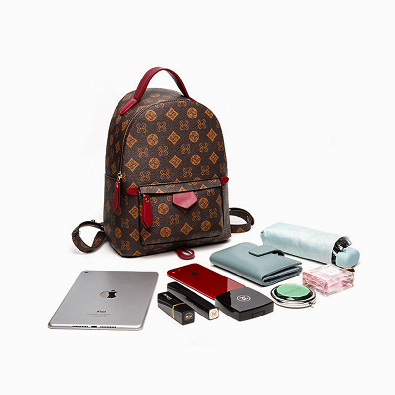 Image 3 - MAHEU Fashion Backpack Luxury Brand Designer Female Backpack  Ladies Girsl Travel Bag Daypack Of Woman Mini BackpackBackpacks   -