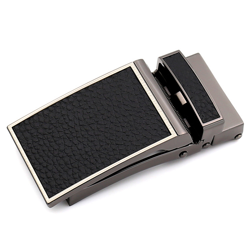 Men's Belt Buckle Business Belt Buckle Automatic Buckle Belt Buckle For 3 Cm Belt Black Brown 110cm To 130cm Length Adjustable