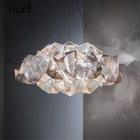 Acrylic Diamond Cloud Modern Pendant Lights Living Room Bar Clothing Store Luxury Design Luminaire Led Light Fixtures Hanging