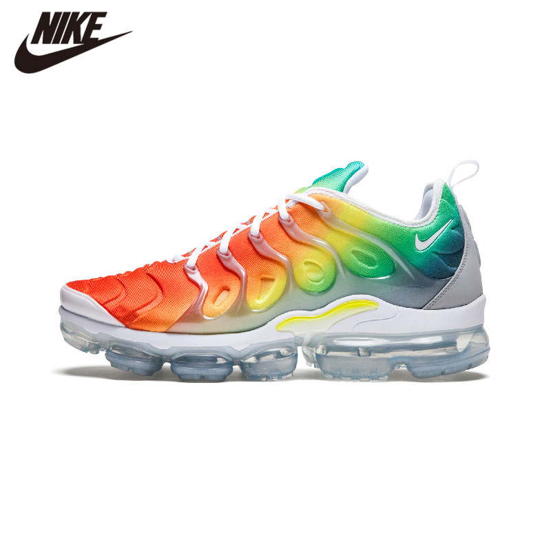 Nike Air Vapormax Plus TN New Arrival Men's Running Shoes Breathable Anti-slip Air Cushion Outdoor Sports Sneakers 924453
