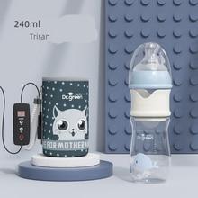 USB Milk Water Warmer Insulated Bag Baby Milk Water Heating Bag Carrier Portable Travel Newborn Feeding Warmer Nursing Care
