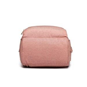 Image 5 - USB Diaper Bag Baby Care Backpack for Mom Mummy Maternity Wet Bag Waterproof Multi Function Stroller Bag LEQUEEN