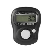 Portable Mini 5-Digit LCD Electronic Screen Digital Universal Hand Held Finger Ring Tally Counter for Outdoor Sports