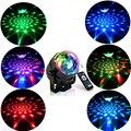 RGB LED パーティー効果ディスコボールライトステージライトレーザーランププロジェクター Rgb ステージランプ音楽 ktv 祭パーティー LED ランプ dj ライト