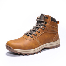 New Arrival Winter Hiking Shoes Genuine Leather Outdoor Boots Trekking Lace-up Climbing Mens Hunting Sneakers Men Male Walking bona new arrival popular style men hiking shoes cow leather lace up men trekking boots comfortable men climbing sport shoes men