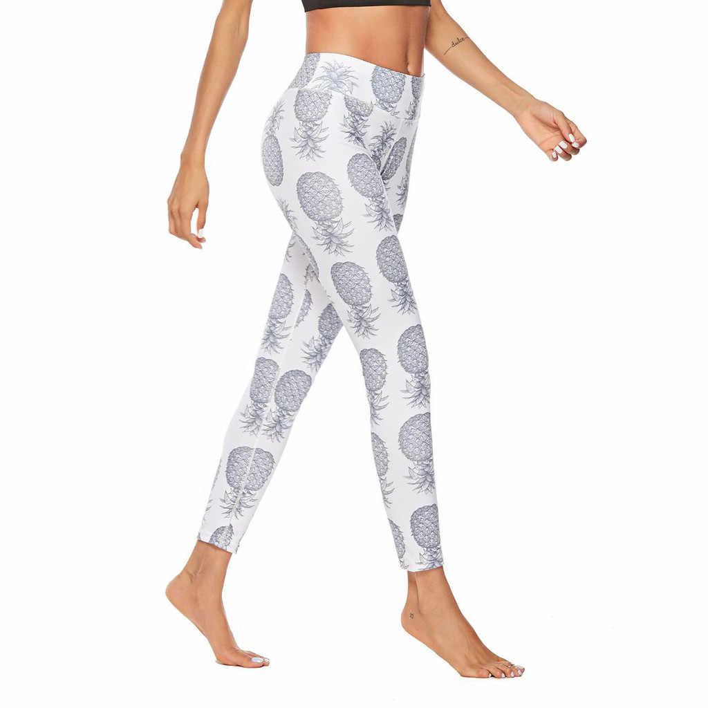 SPRING FIELDS  ankle length  Womens YogaSport Leggings