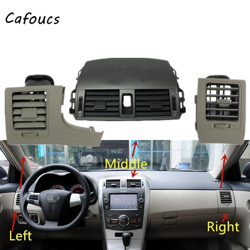 Крышка панели радиатора кондиционера A/C для Toyota Corolla Altis