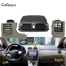 Samochód A C powietrza klimatyzacja Vent panel gniazda osłona na maskownicę dla Toyota Corolla Altis tanie tanio Cafoucs CN (pochodzenie) Klimatyzacja montaż 0 75kg Air Conditioning Air Vent Outlet standardinch Air Conditioning Outlet Iinstrument Panel