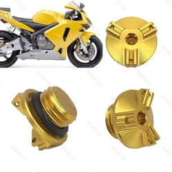 For Honda CBR600RR CBR1000RR CBR900RR CBR 600RR 900RR 1000RR 2003-2019 Motorcycle CNC Engine Oil Filter Cap Oil Plug Cover