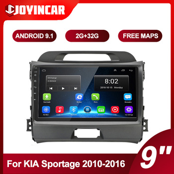 2Din Android 9.1 Car Radio Multimedia Video Player Autoradio For KIA Sportage 2010-2016 Car Stereo GPS Navigation Wifi image