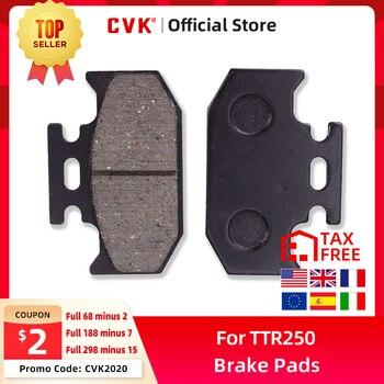 CVK Quality Rear Brake Pads Disks Shoes FOR For Kawasaki KDX125 KDX200 KDX250 KLX250 Suzuki DR250 DR350 YAMAHA DT125 TTR250 new