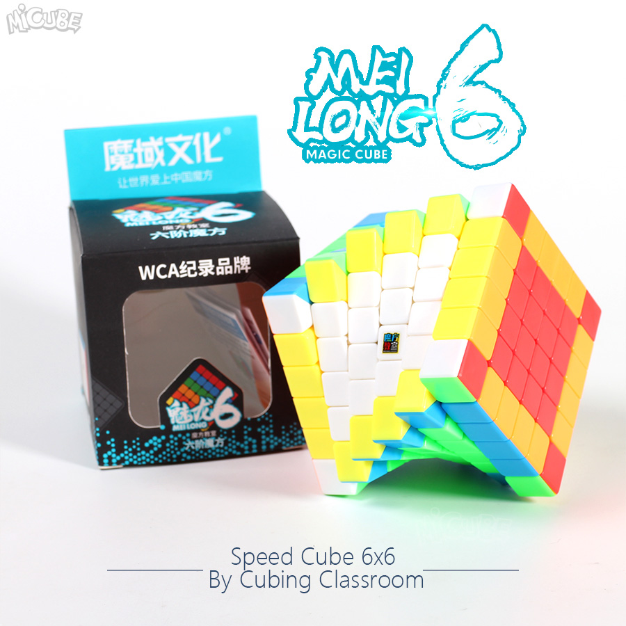Moyu Neo Cube Puzzle 6x6 Meilong 6x6x6 Cubo Magico Speed  Magic Cube Game Mini Size Education Toys For Children Toy
