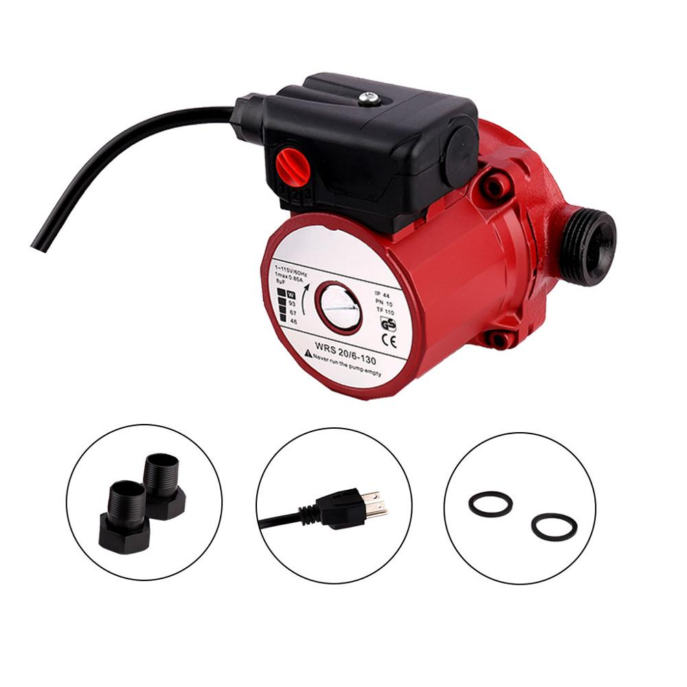 "SHYLIYU RS20-6 1""Outlet Pressure Boosting Heat Pump 3-Speed Shielding Home Garden Water Pump Adjustable Control Circulation Pump"