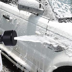 Image 5 - USEU Car Cleaning High Pressure Foam Gun Vehicle Interior Cleaner Tornado Tool Car Wash Snow Foam Lance With Adjust Spray Nozzle