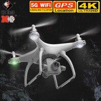 WLtoys XK nuovo X1S Drone 4k HD professionale con fotocamera GPS 5G WIFI FPV RC Quadrocopter droni fotografia aerea Drone giocattoli regali