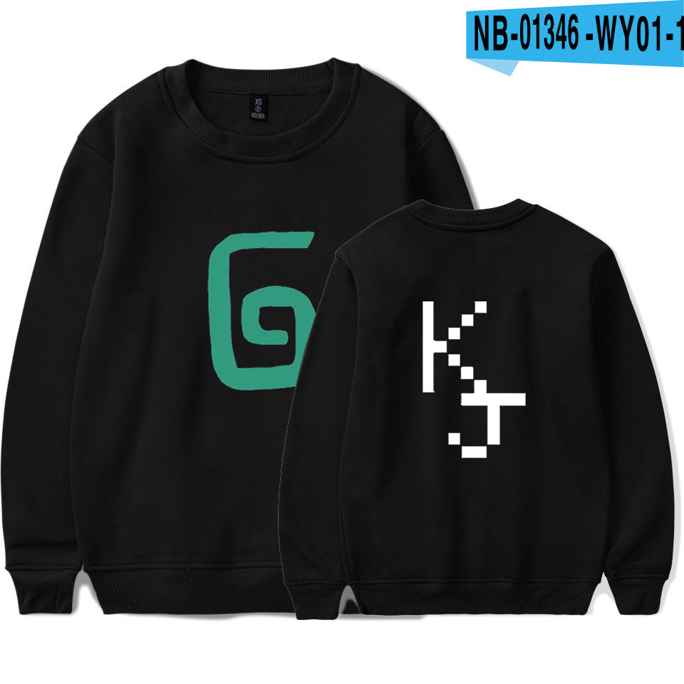 2021 Karl Jacobs Cute Style O-neck Sweatshirt Harajuku Streetwear Printed Stylish Outwear Round Collar Pullovers Clothes 11