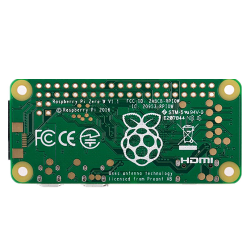 raspberry pi Original Raspberry Pi Zero W Board 1GHz CPU 512MB RAM RPI ZERO W for Computer Electronic Component Wireless & Bluetooth (4)