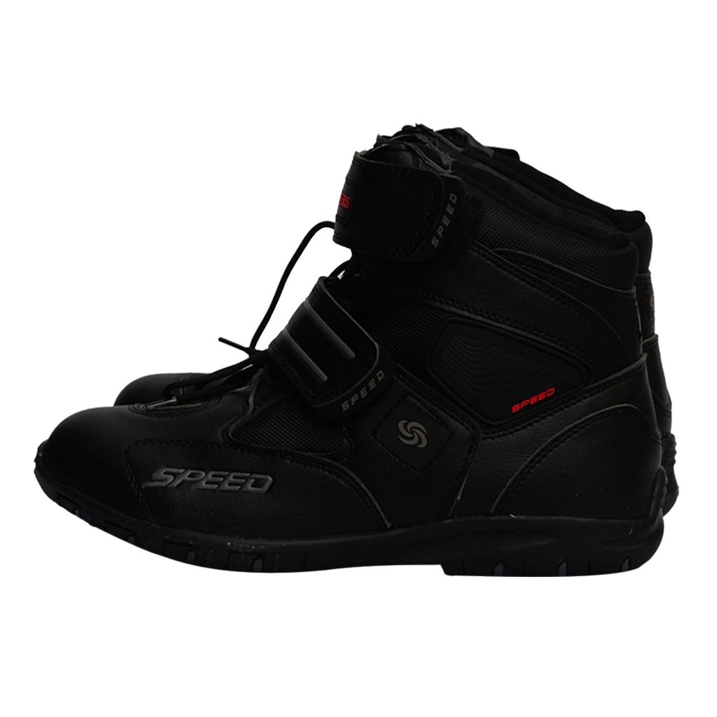 Paar Motorrad Stiefel Anti-skid Racing Motocross Schutz Racing Stiefel Motorrad