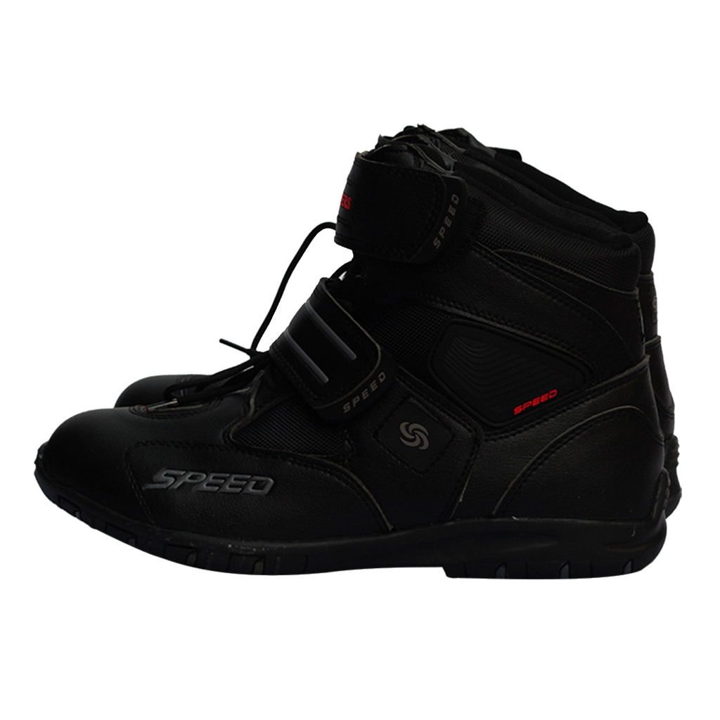 Paire moto bottes anti-dérapant course Motocross Protection course bottes moto