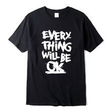 Мужская футболка с короткими рукавами из 100% хлопка Повседневная