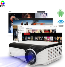 Projector Full HD 4K Movie Theater 150 inches Projector Manual Screen With 4 3 Aspect Ratio 1080p Digital Cinema Projector cheap Auto Correction 1920x1080dpi home Digital Projector 60-150inch 100W Throwing 16 09 2 0kg 3200 Lumens 1 5m-7m ANDROID 50 000 1