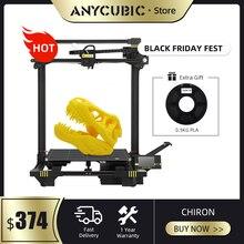 ANYCUBIC Chiron 3d Drucker Riesige Bauen Volumen 400x400x450mm Automatische nivellierung Dual Z achse 3d Drucker kit impresora 3d drucker