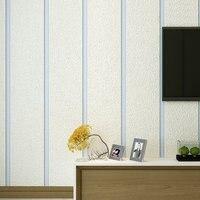 53cmx10m Extra Thick Mediterranean Marble Deer Velvet Wallpaper 3d Horizontal Striped Board Tv Background Wallpaper Bedroom