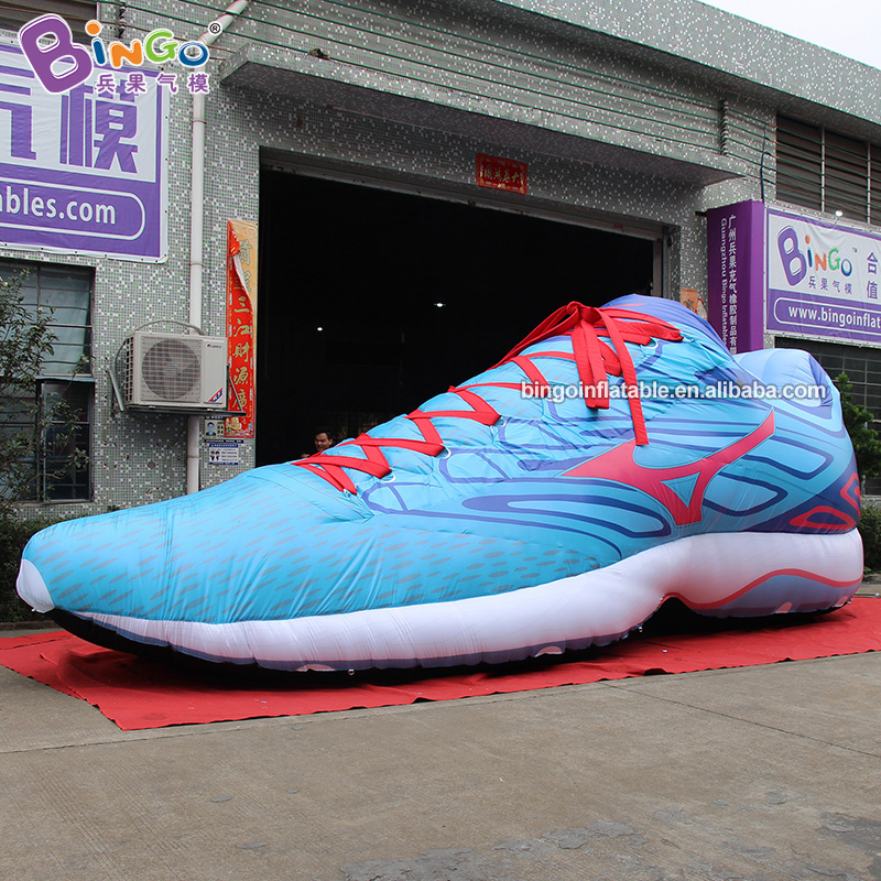 8m <font><b>Inflatable</b></font> Sport Shoes/Sneakers/Gym shoes Model/Inflated <font><b>Billboard</b></font> Decor for Sportswear Expo image