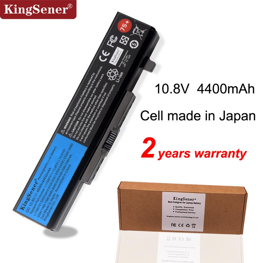 KingSener Laptop Battery For Lenovo G580 Z380 Z380A Y480 G480 V480 Y580 G580AM B480 B490 E49 K49 L11S6Y01 L11L6Y01 L11S6Y01 75+