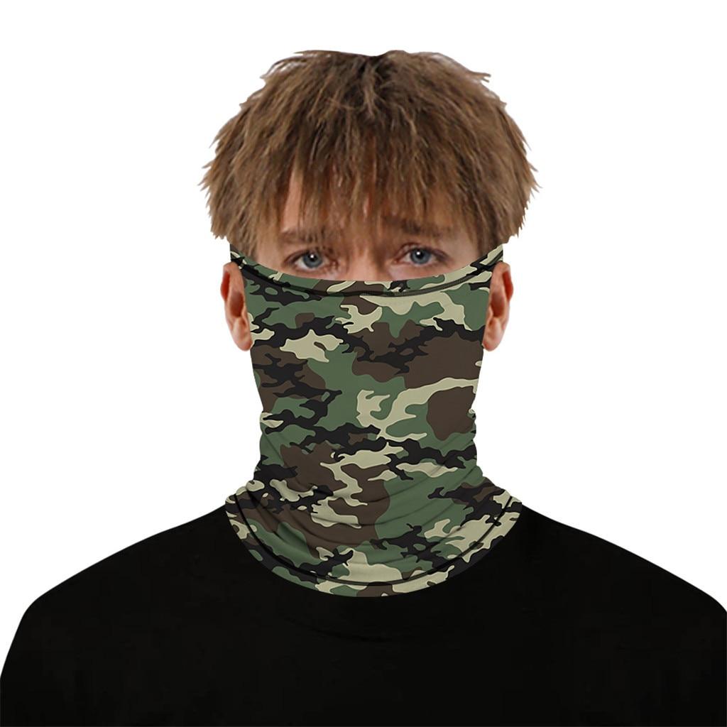 Stylish Printed Dustproof Scarf Mask 29