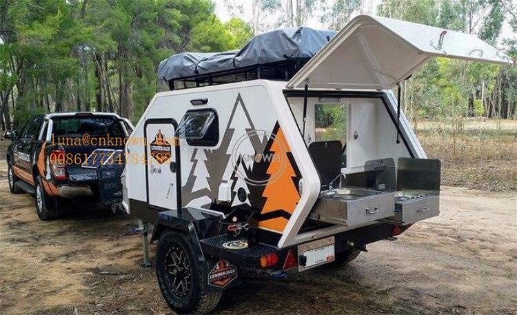 Customized Fiberglass Mini Off Road Teardrop Caravan ...