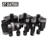 DT-DIATOOL 1 Pc Vacuümgesoldeerde Diamant Boren Bits Hole Saw Droog M14 Of 5/8-11 Draad Boor Core Bits voor Keramische Tegels Porselein