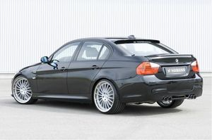 Image 4 - E90 HM Styling Carbon Fiber  Rear Roof  Lip Wing Spoiler  for BMW 2005 2012