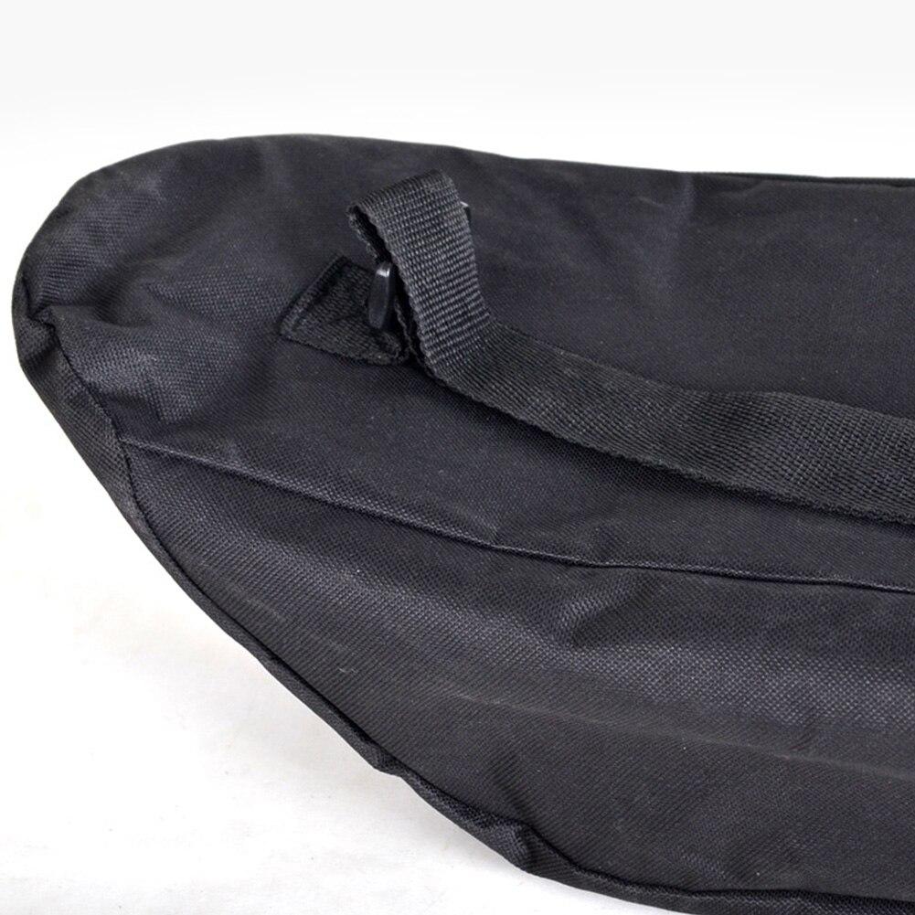 Travel Skateboard Bag Oxford Cloth Unisex Waterproof Cover Black Backpack Shoulder Wear Resistant Adjustable Longboard Solid